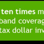 Get ten times more broadband