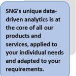 SNG's analytics