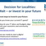 Decision for Localities on Broadband – wait, or invest in your future