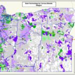 Oregon Broadband Study – best technologies by census block